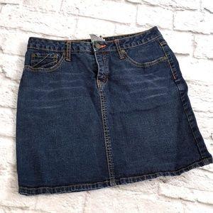 No Boundaries Stretch jeans Skirt size 7